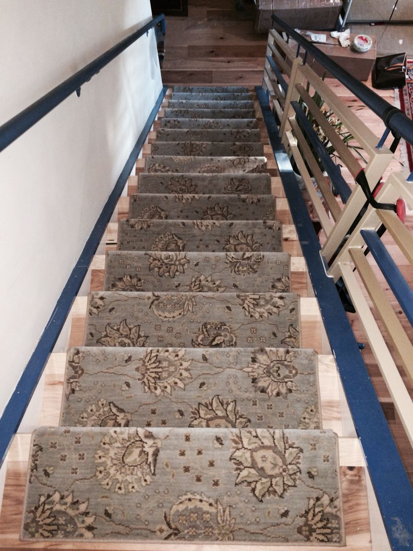 New Zealand Wool Stair Treads New Square Nose Version Stair Treads Bullnose Carpet Stair Treads Stairs