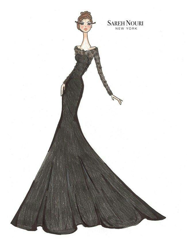 Pin von Daphne D\'mello auf Fashion Sketches   Pinterest