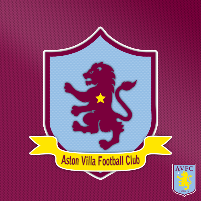 aston villa aston villa fc pinterest aston villa british football and football team. Black Bedroom Furniture Sets. Home Design Ideas