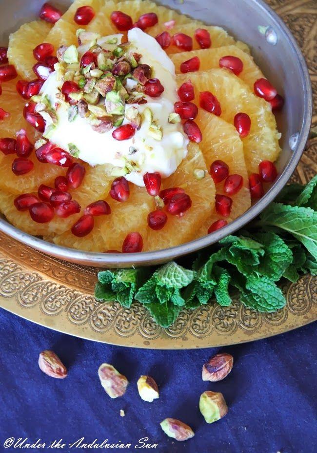 Marokkolainen appelsiinisalaatti