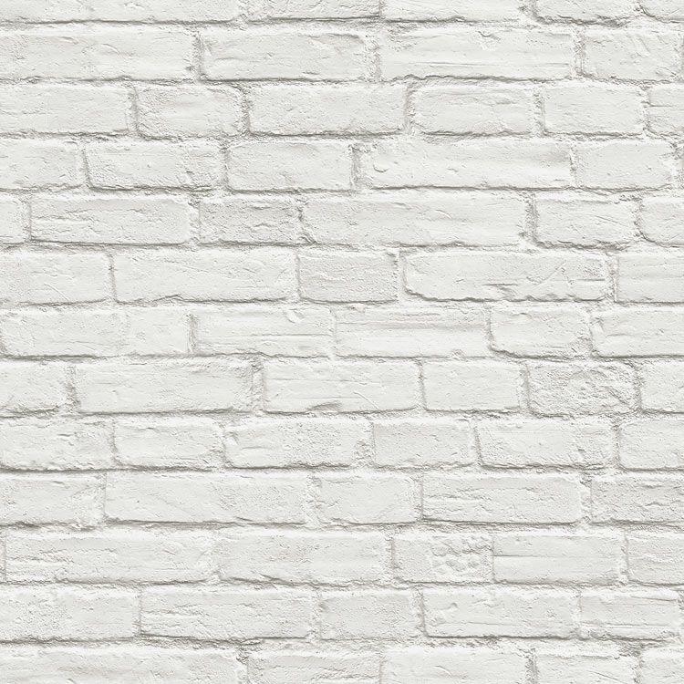 Nextwall Peel Stick Vintage White Brick Wallpaper White Brick Wallpaper Removable Brick Wallpaper White Brick