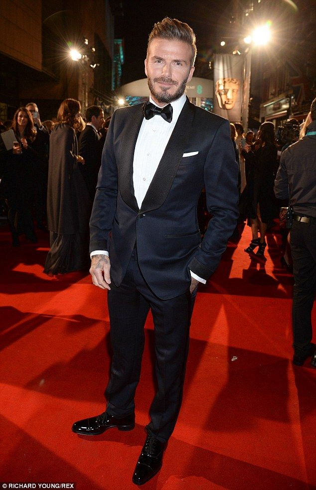 Big moment: The sports icon was set to present an award at the prestigious movie ceremony...