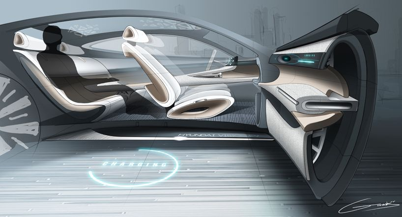 Pleasing Hyundai Motor Unveils Future Design Direction At Geneva Interior Design Ideas Tzicisoteloinfo