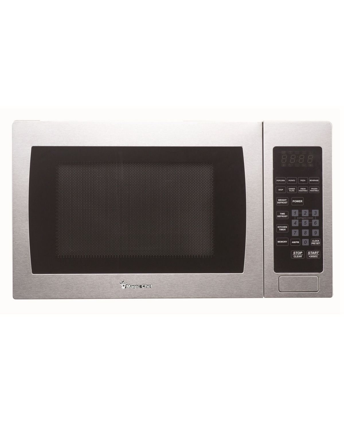 Intel Magic Chef 0 9 Cubic Feet 900w Countertop Microwave Oven