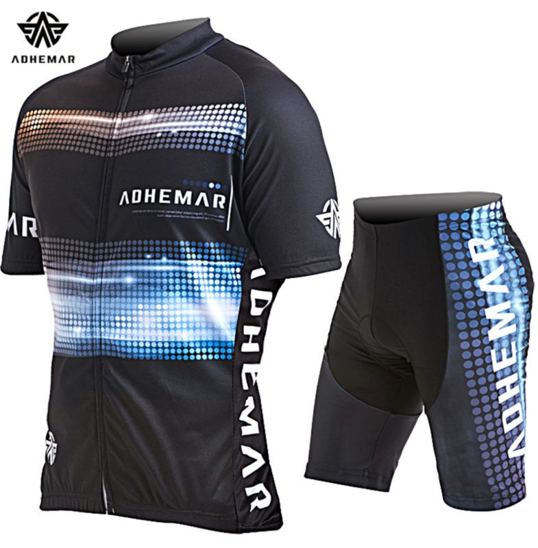 31118dbd7 ATHEMAR 2017 summer men s cycling jersey set clothing mtb bike bicycle  jerseys sets clothes breathable quick
