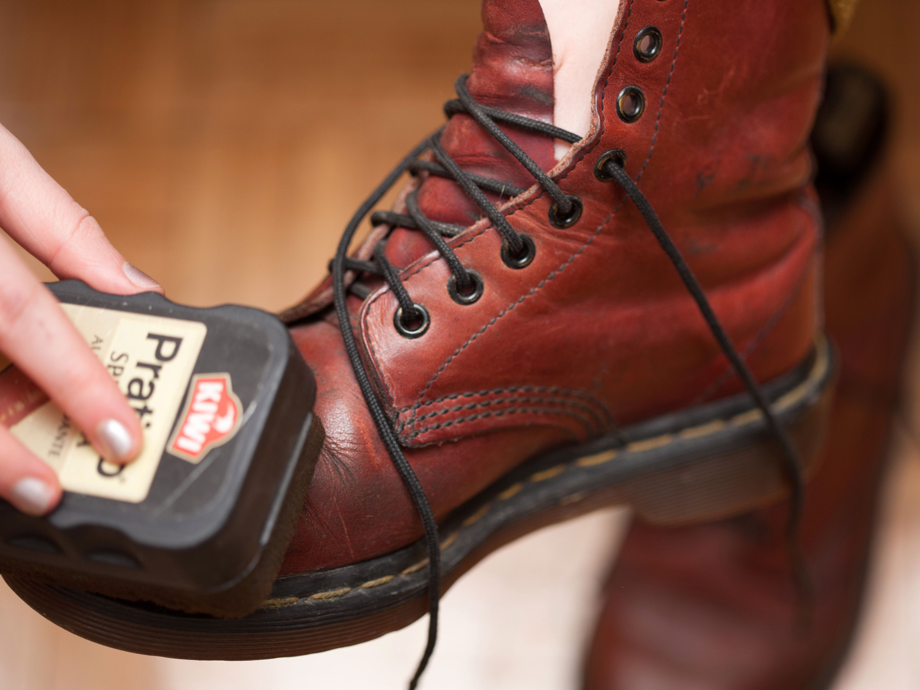 How To Clean Road Salt Off Leather Shoes Via Wikihow