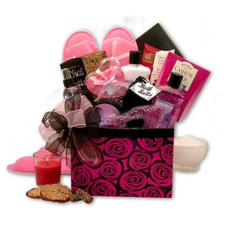 A Spa Day Getaway Gift Box Gift Basket