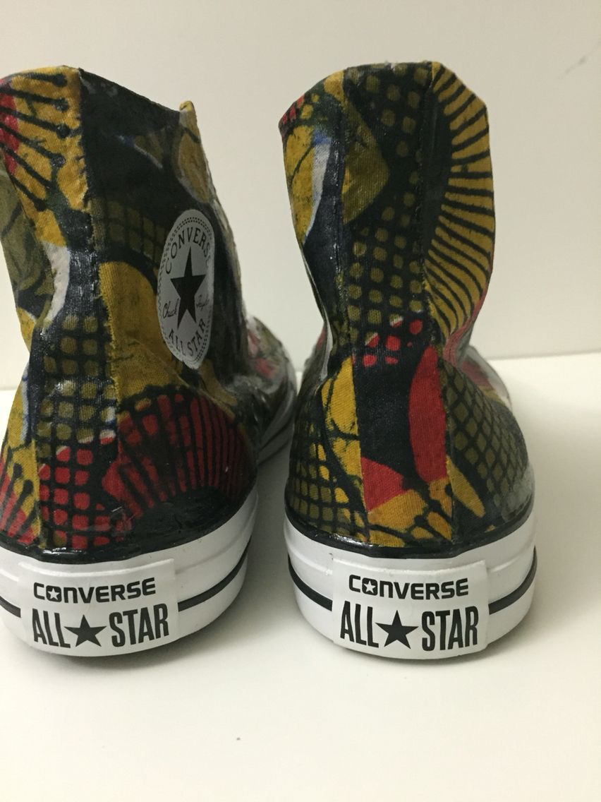 African print converse ™ customized by HelenLolita | African
