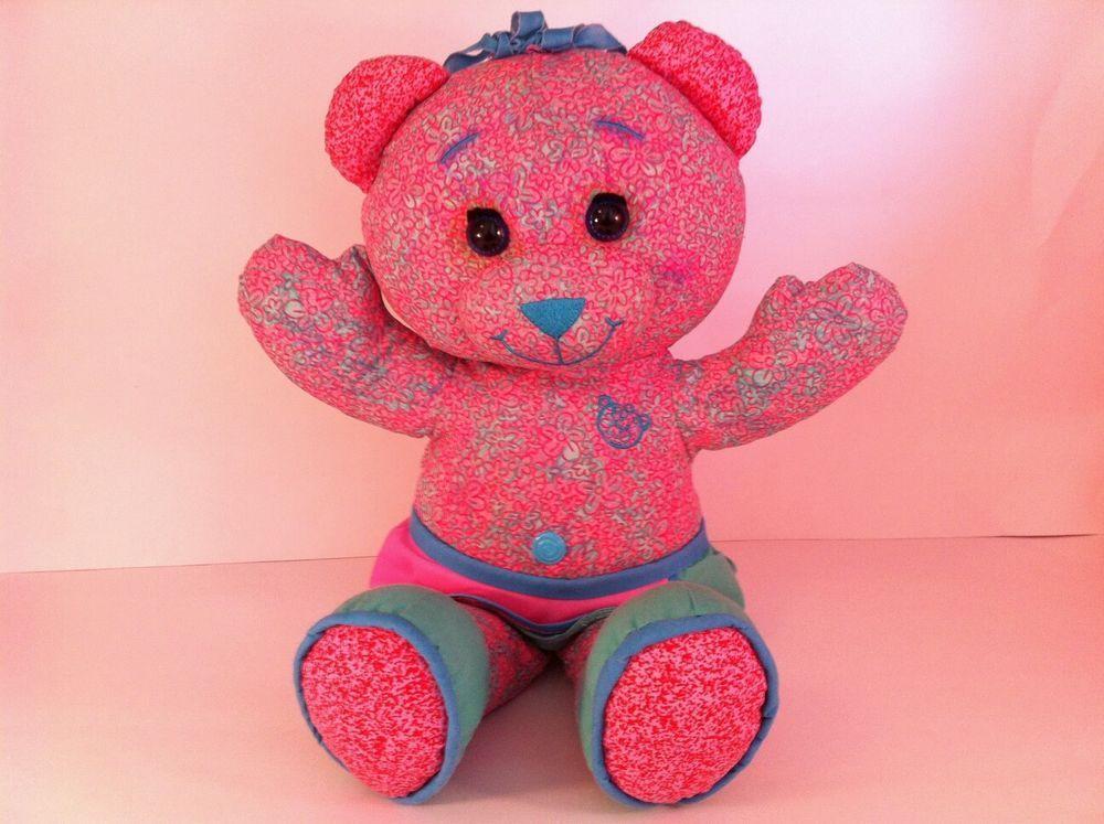 Brittany Stuffed Animal, Doodle Bear Vintage Plush Toy Draw On Me Bear Washable Teddy Bear Jakks 2005 18 Quot Toys Amp Hobbies Stuffe Vintage Plush Toys Doodle Bear Vintage Plush