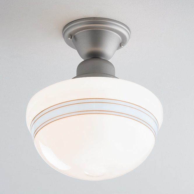 Striped Schoolhouse Ceiling Light Ceiling Lights Ceiling Light Shades Beaded Light Fixture
