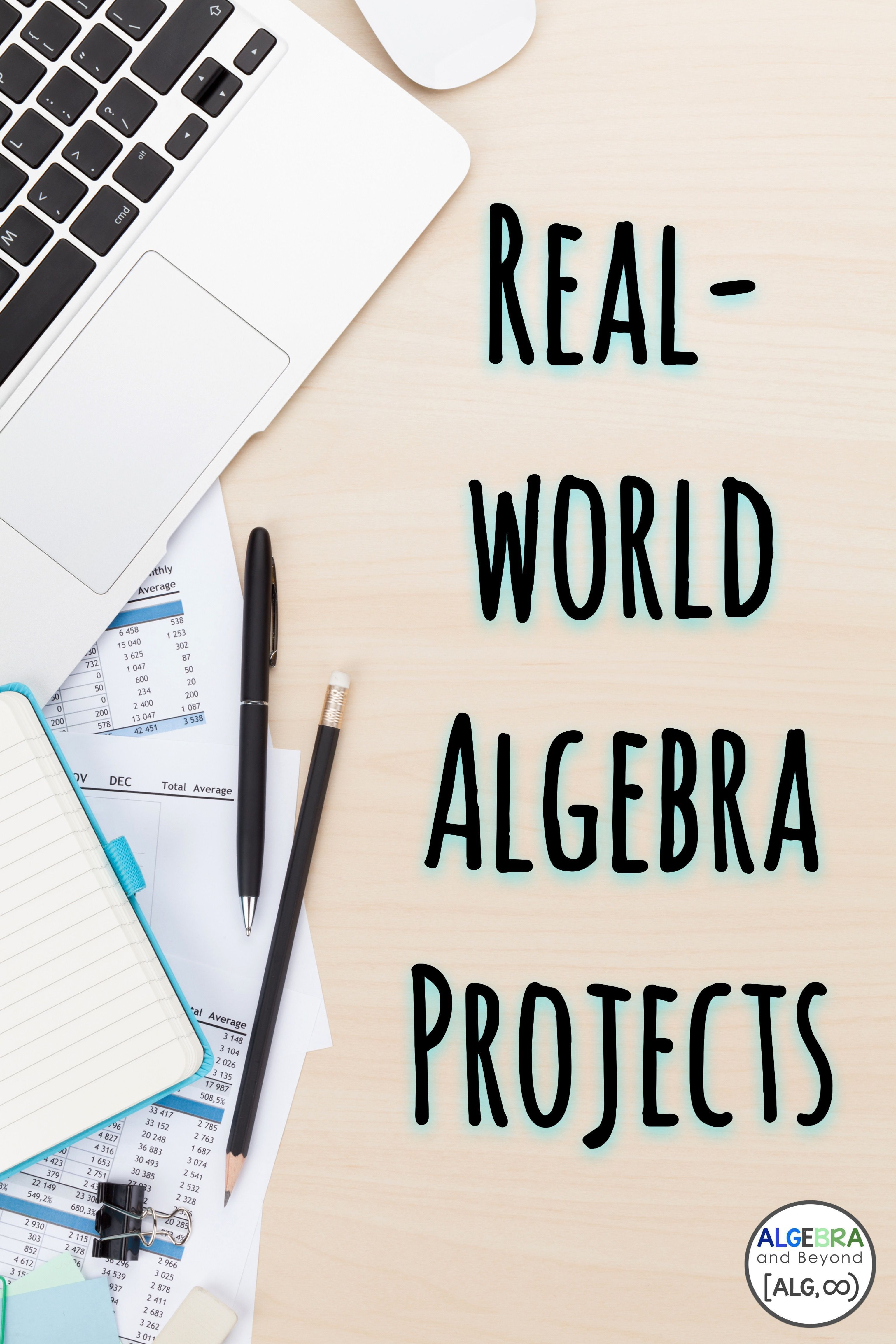 Real World Algebra Projects Are Awesome These Projects Connect Math With Real World Scenarios For Students To Explore Many Projects With Various Topics A Skola [ 4608 x 3072 Pixel ]