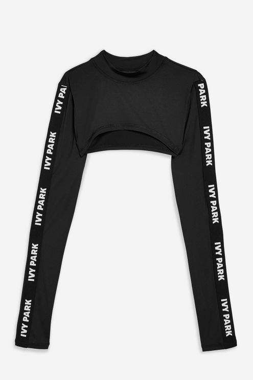 b04683cfb5b3a7 Long Sleeve Super Cropped Top by Ivy Park - New In Fashion - New In ...