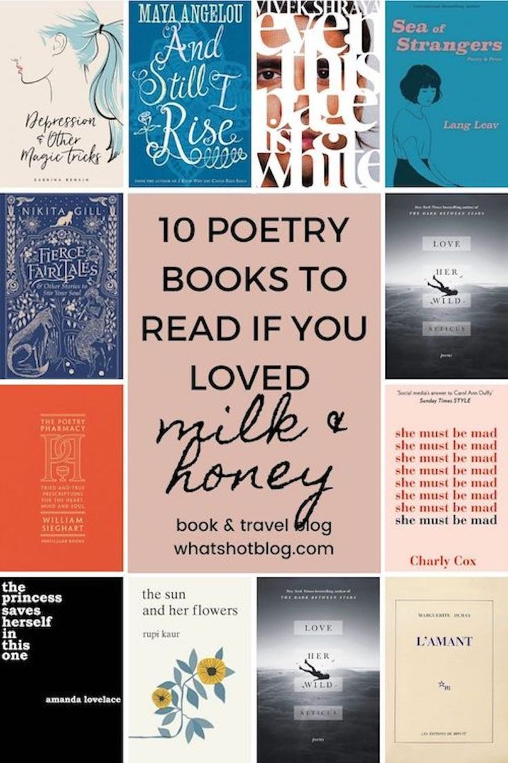 10 Books To Read if You Loved Milk and Honey by Rupi Kaur