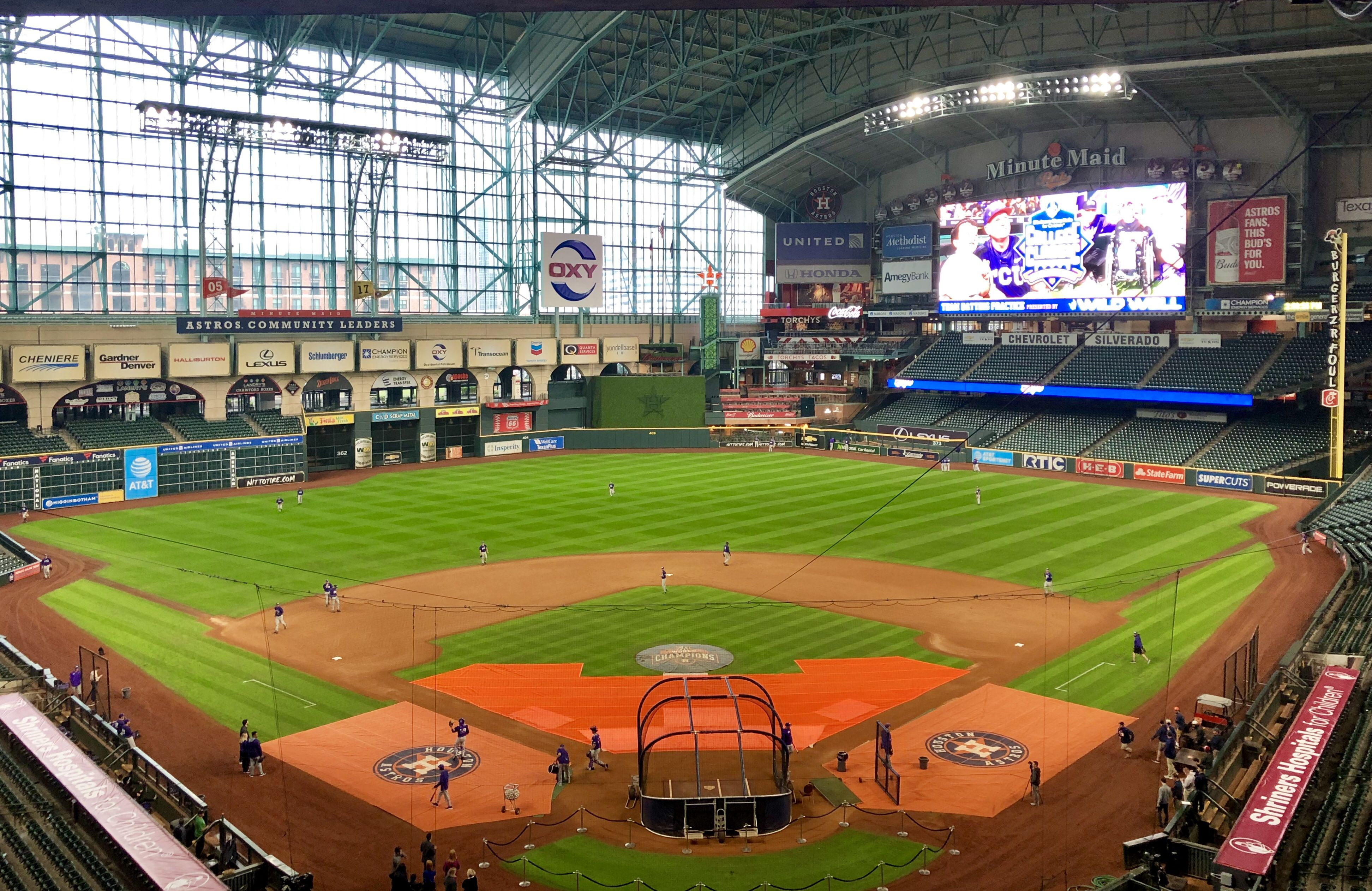 Houston Astros Ball Park Minute Maid Park Mlb Stadiums Minute Maid