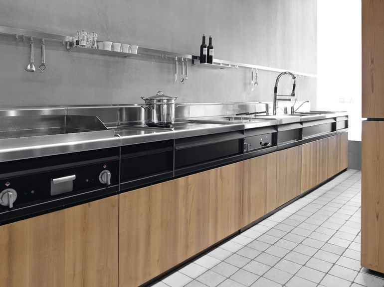 This Is A Kitchen Design By Minacciolo, A Kitchen With Combination Of Modern  And Natural Design. The Metal Parts Show A Modern Side Of This Kitchen  Whiles ...