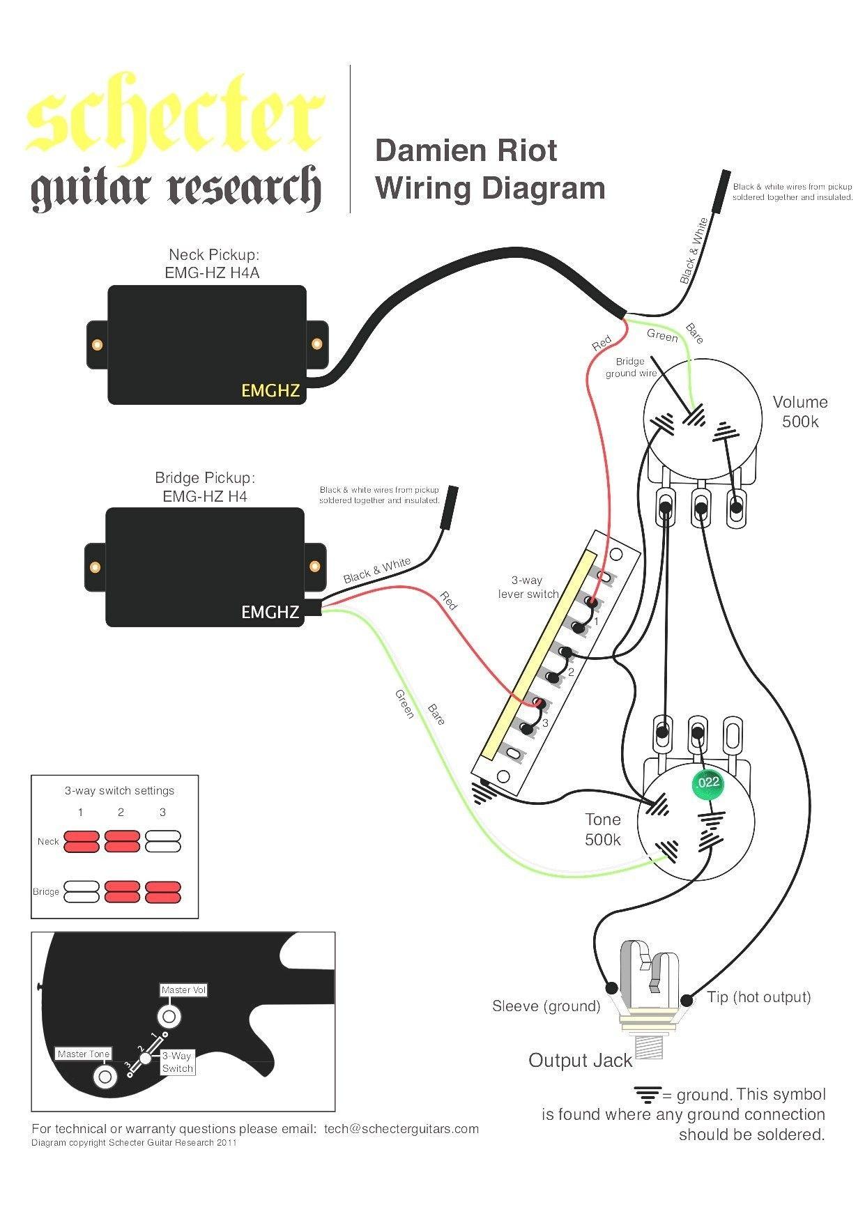 Unique Emg Hz Wiring Diagram In