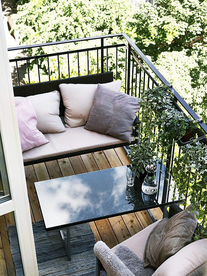 20 Idees Deco Pour Terrasses X Balcons En 2020 Deco Balcon