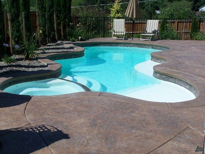 San Juan Fibergl Pool Spa Desert Springs