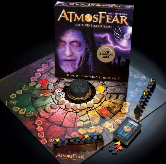 Kit Of The Video Board Game The Video Board Game Nightmare Atmosfear Atmosfear Board Game Games Board Games
