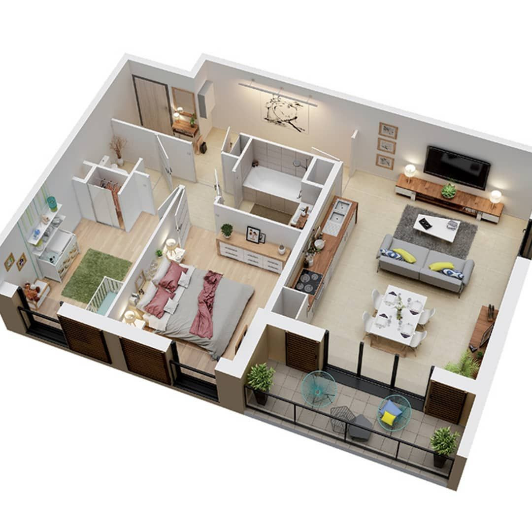 Big Balcony Do You Like It Follow Dontwastespace Art Floorplans Floorpland Floor Plan Design Architecture House Styles