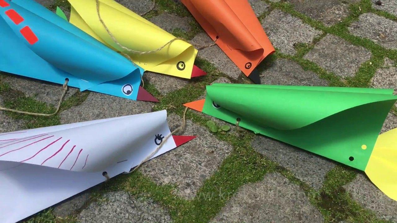 V gel basteln und fliegen lassen kinderbasteleien for Projekte im kindergarten herbst