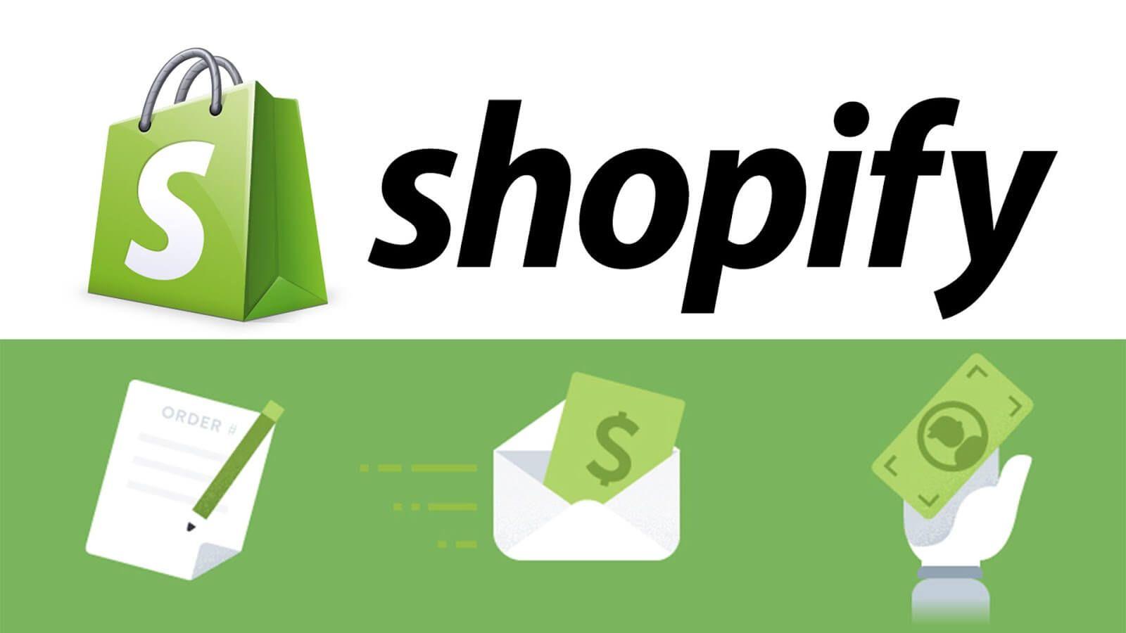 website development with Shopify. Shopify