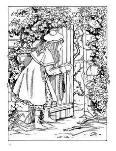 Secret Garden Coloring Pages Google Search Coloring Books Garden Coloring Pages Secret Garden Coloring Book