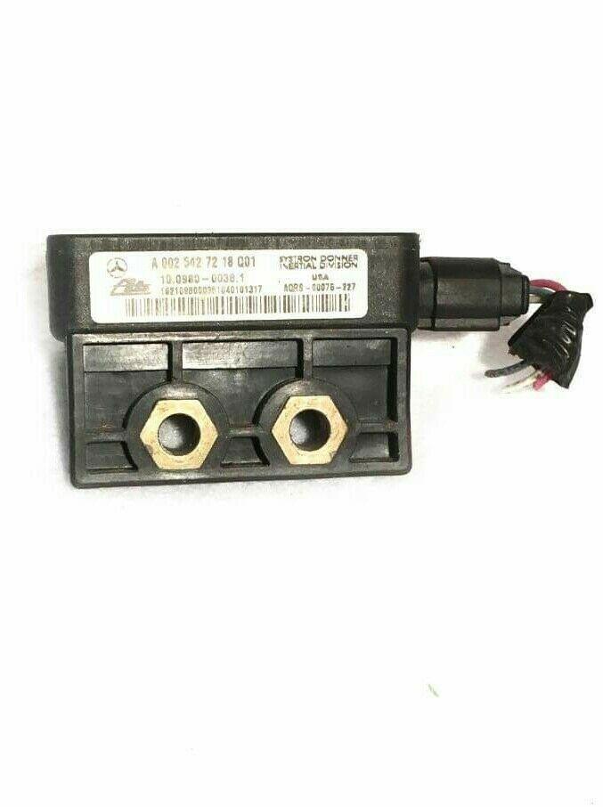 Details About 98 05 Mercedes Slk C240 Yaw Rate Sensor Traction Control A0025427218 Q01 In 2020 Mercedes Slk Mercedes Mercedes Ml320