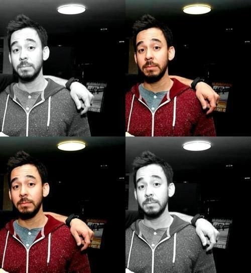 MIKE SHINODA Love the multiple (THUD) effect, just makes me wanna' quadruple pass out...