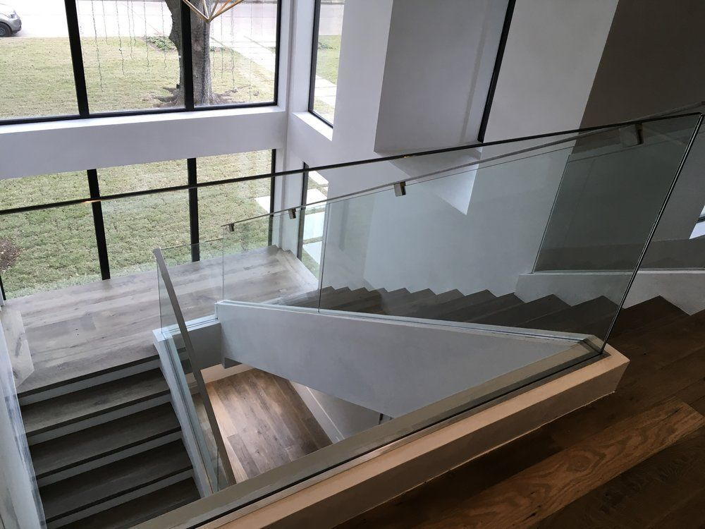 Best The Laurel Project Stair Company Glass Railing Glass 400 x 300