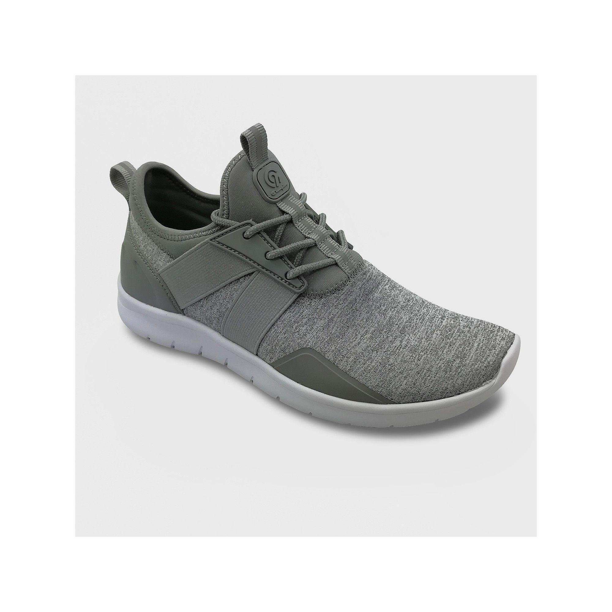 66e6551c Women's Drive 4 Spacedye Wide Width Heathered Sneakers - C9 Champion Gray  7.5W