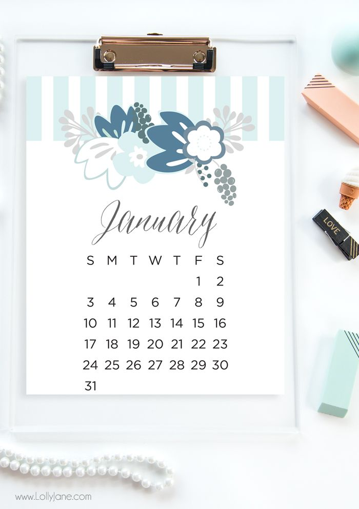 Free Printable Calendars  Free Printable Calendar Love And