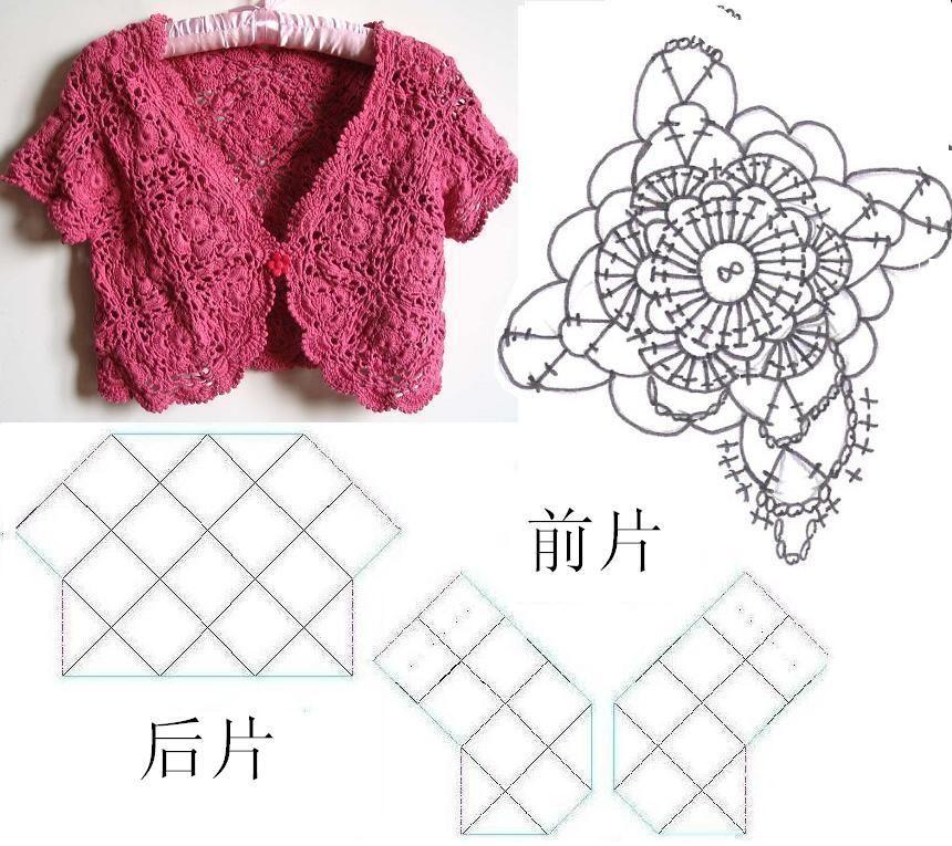 Crochet Creations: bolero
