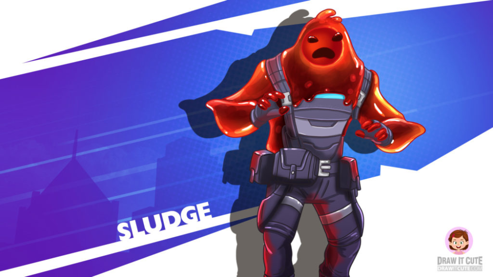 How To Draw Sludge Fortnite Chapter 2 Draw It Cute Fortnite Drawings Chapter