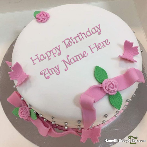 Terrific Ice Cream Fondant Cake For Friends Birthday Wish With Name With Funny Birthday Cards Online Chimdamsfinfo