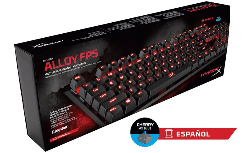 Review: HyperX Alloy, teclado para videojuegos