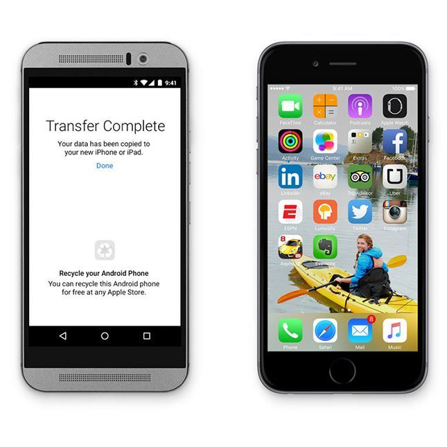 Apple S Just Announced App Is Going To Make Leaving Android Insanely Easy Application Android Iphone Android Phone
