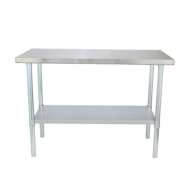 Sportsman Stainless Steel Kitchen Utility Table SSWTABLE   The Home Depot