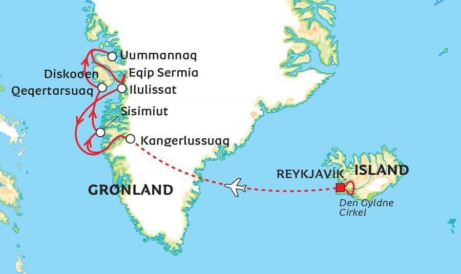 Albatros Luksuskrydstogt I Gronland Med Island Reykjavik