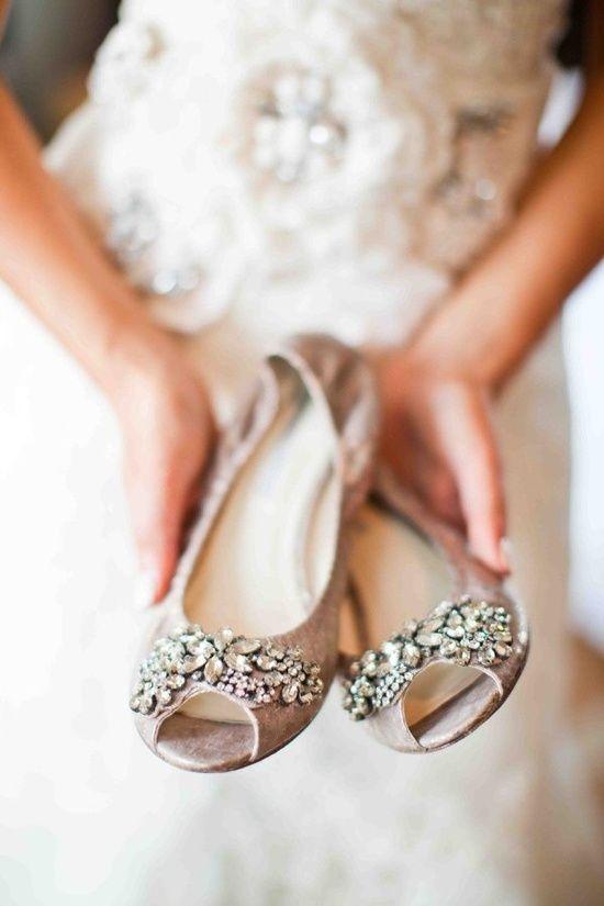glamorous flats for the reception | Wedding dresses | Pinterest ...
