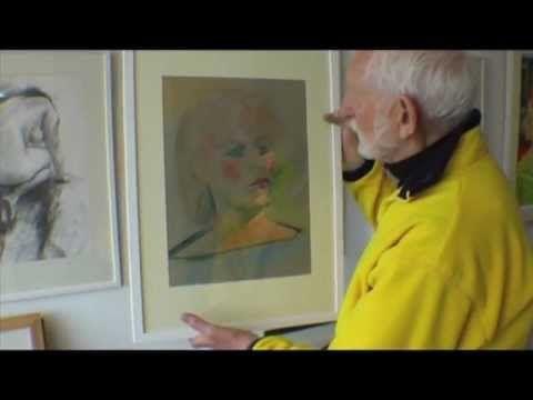 Les Shaw Art Exhibition at Studio X1-May 2012 (part 1)