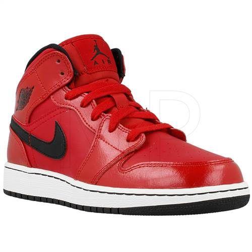 Nike Air Jordan 1 Mid Bg 554725602 Air Jordans Jordan 1 Mid Jordans