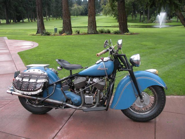1948 Indian Chief Frame No 348 1892 Engine No Cdh1892b Indian Motorcycle Indian Chief Indian