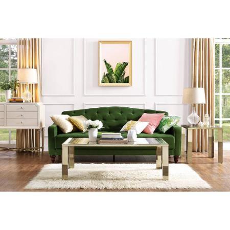 Enjoyable 9 By Novogratz Vintage Tufted Sofa Sleeper Ii Multiple Beatyapartments Chair Design Images Beatyapartmentscom