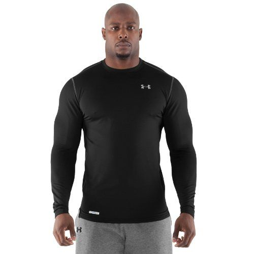 ef997fc4 Under Armour Men`s ColdGear® Fitted Long Sleeve Crew $49.48 (save $13.20)