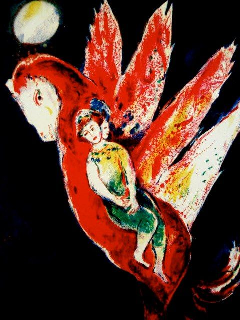 Marc Chagall (French/Russian, 1887-1985).