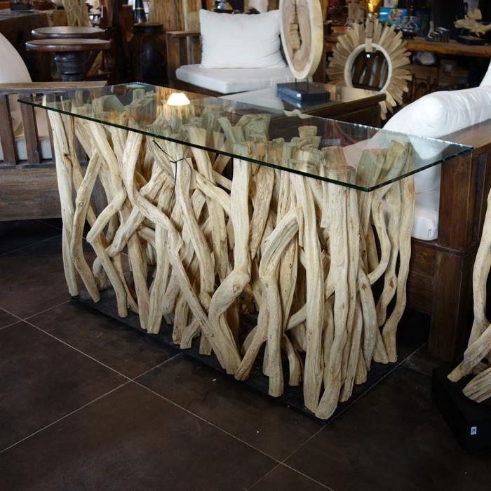 meuble en bois flotte