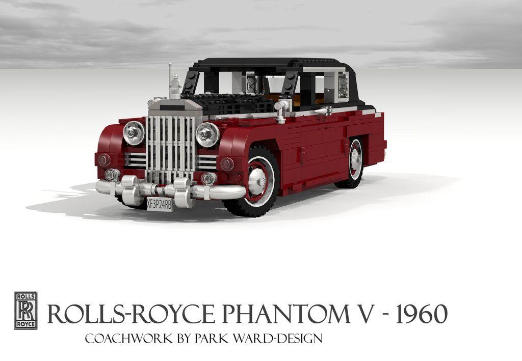 Rolls-Royce Phantom V - 1960   by lego911