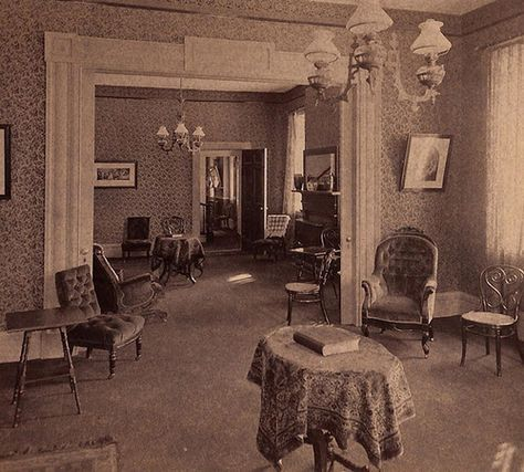 Double Parlor 1890 S In 2019 Victorian Rooms Victorian