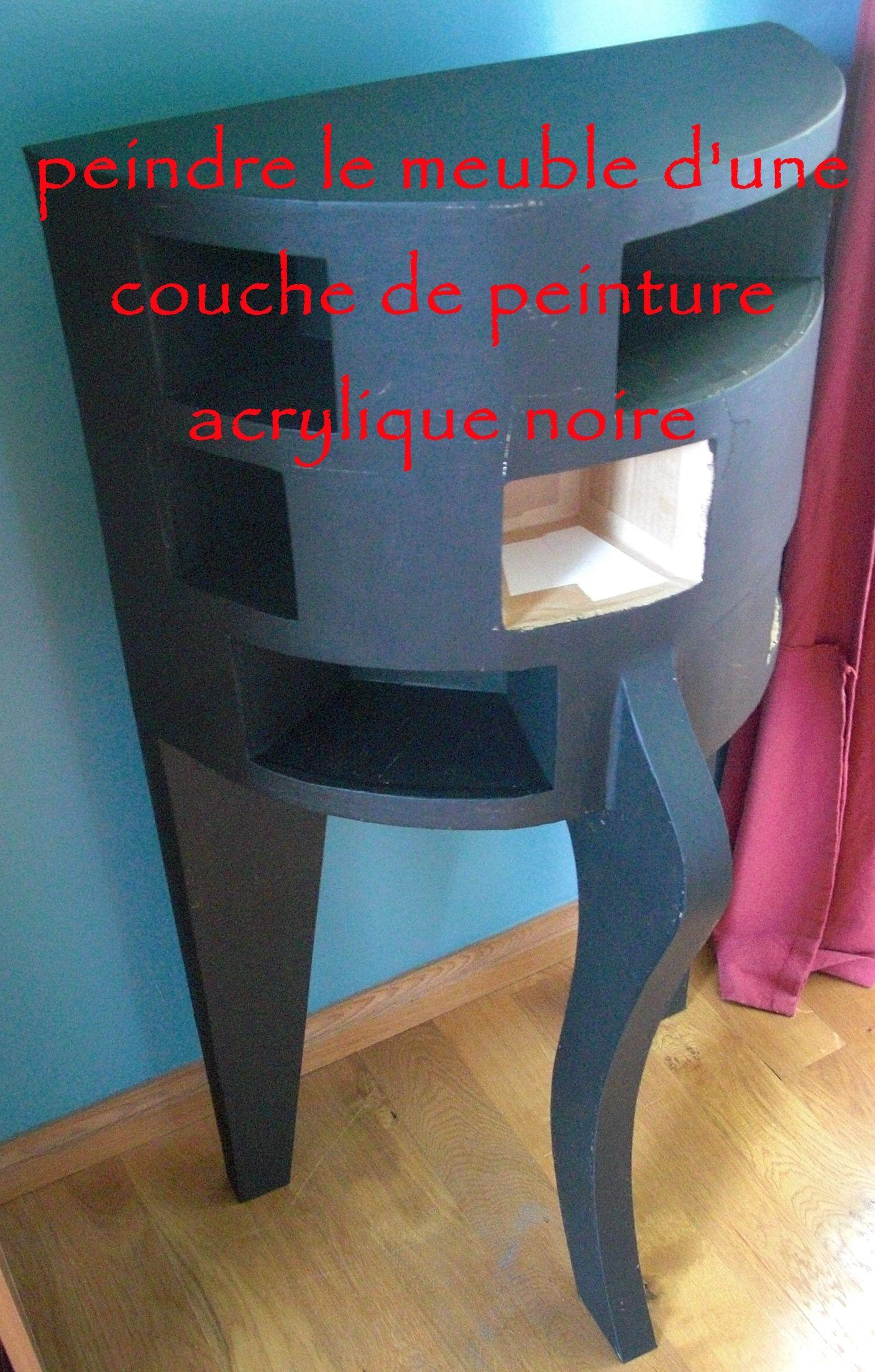 Enduit Phenix Meubles En Carton Diy Colles Peintures Teintures